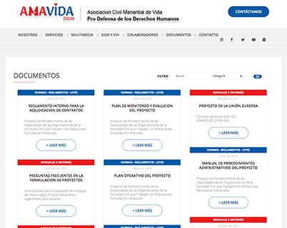 Amavida documentos
